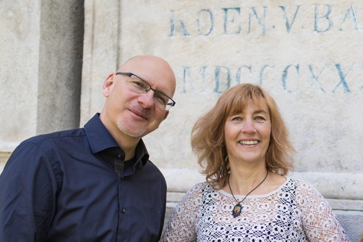 Catharina Niggemeier und Jörg Peter Urbach sind die Blogbotschafter.